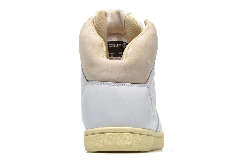 Baskets Hummel Globetrotter Vintage Hi Blanc vue droite