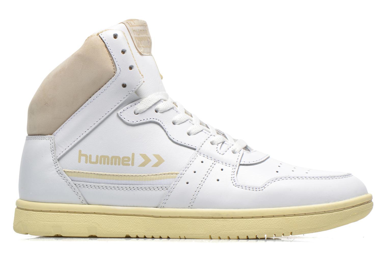 Baskets Hummel Globetrotter Vintage Hi Blanc vue derrière