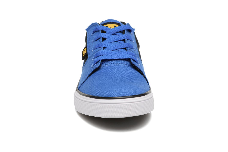 Baskets DC Shoes TONIK SE Bleu vue portées chaussures