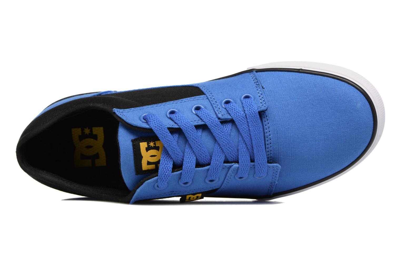 Baskets DC Shoes TONIK SE Bleu vue gauche
