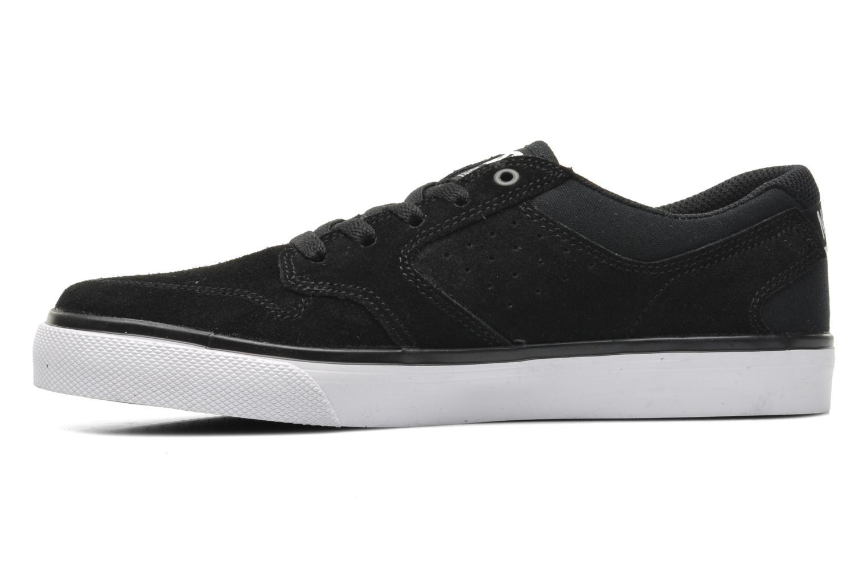 Sneakers DC Shoes NYJAH VULC Kids Zwart voorkant