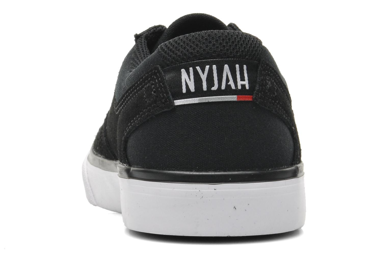 Sneaker DC Shoes NYJAH VULC Kids schwarz ansicht von rechts