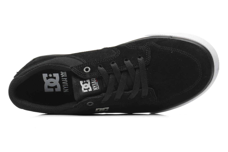 Sneaker DC Shoes NYJAH VULC Kids schwarz ansicht von links
