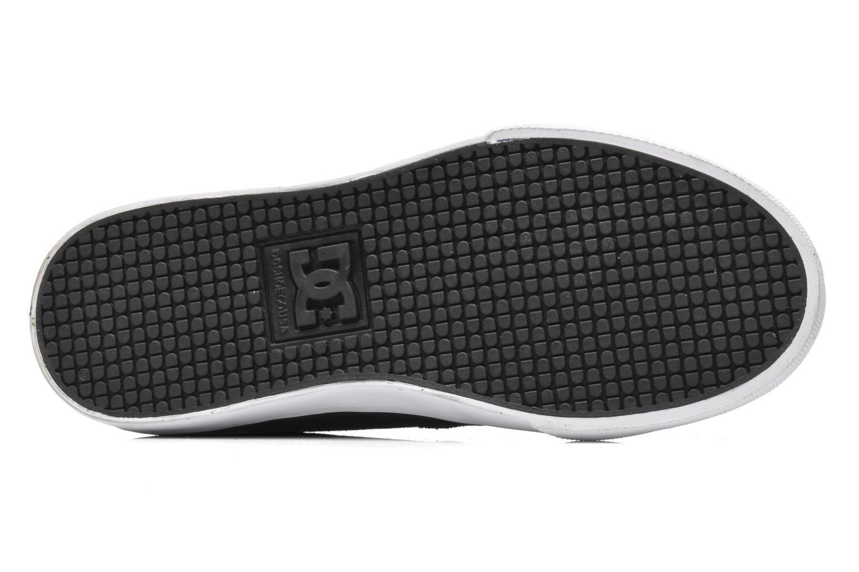 Sneaker DC Shoes NYJAH VULC Kids schwarz ansicht von oben