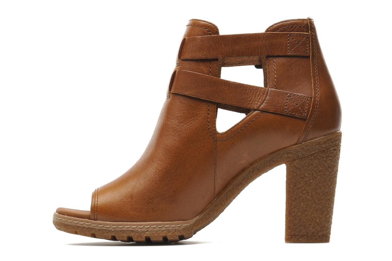 Bottines et boots Timberland Earthkeepers Glancy Peep Toe Marron vue face