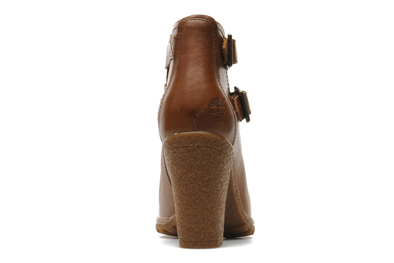 Bottines et boots Timberland Earthkeepers Glancy Peep Toe Marron vue droite