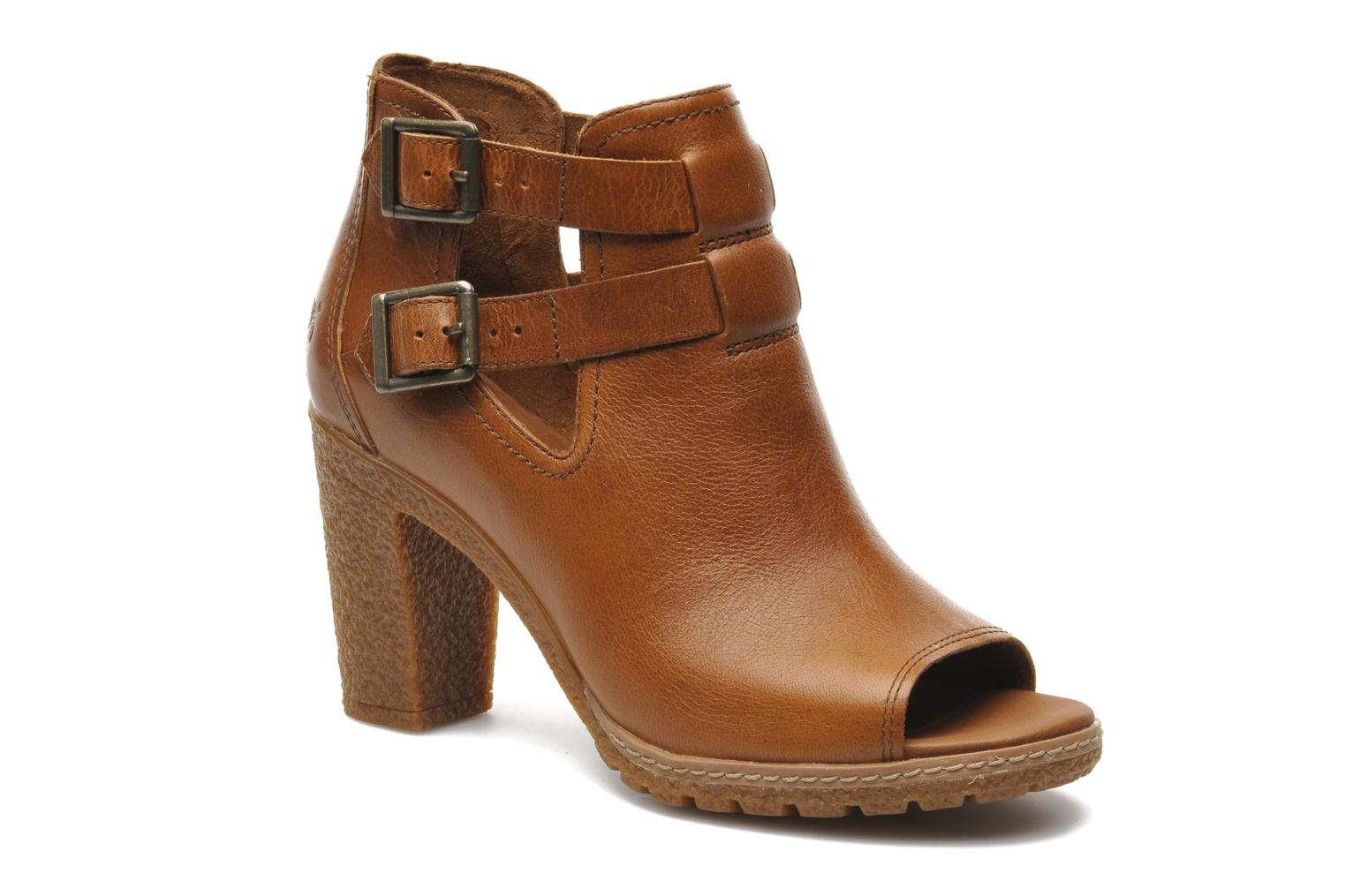 Bottines et boots Timberland Earthkeepers Glancy Peep Toe Marron vue détail/paire