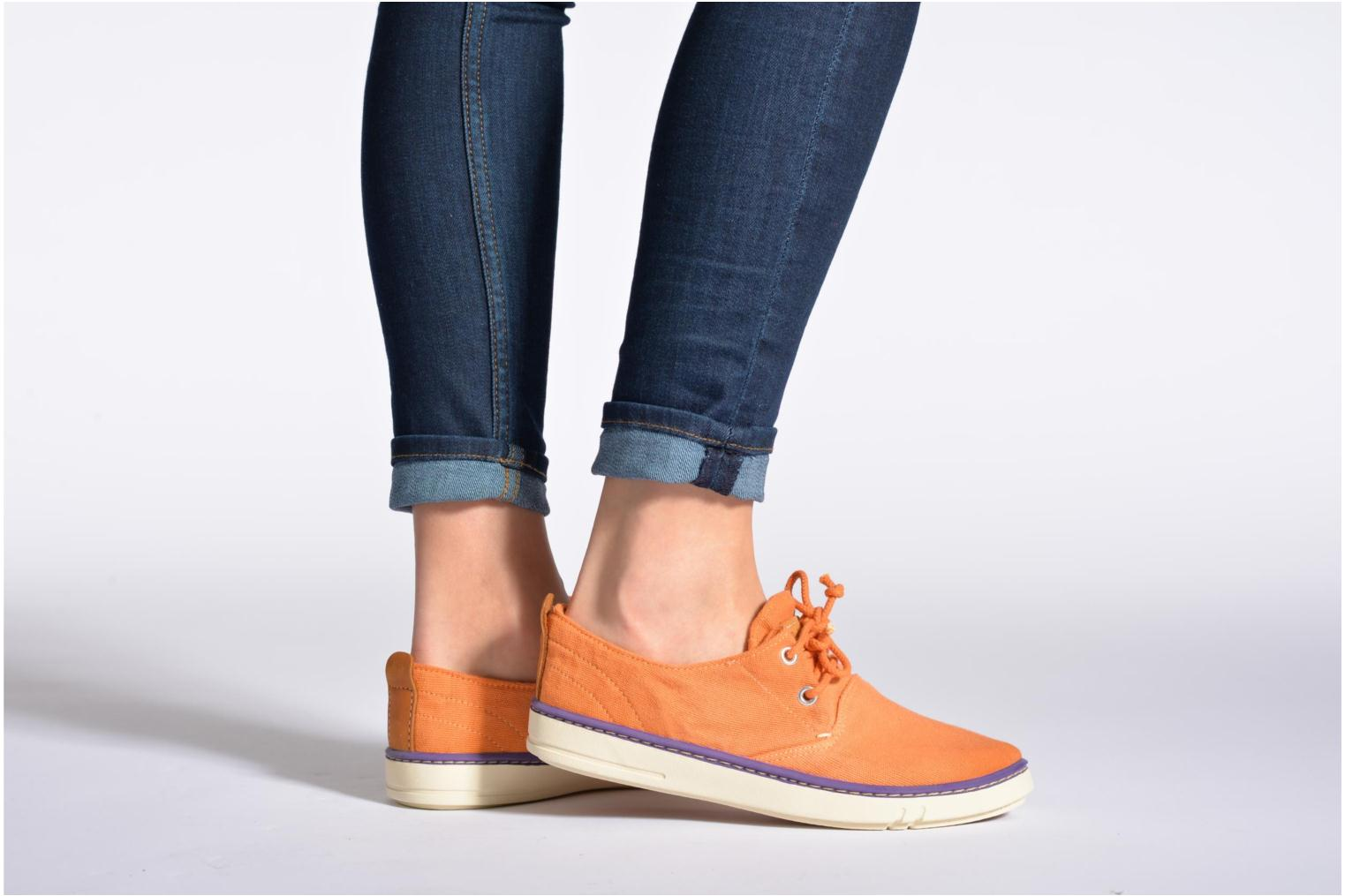Sneakers Timberland Hookset Handcrafted Canvas Ox Blauw onder