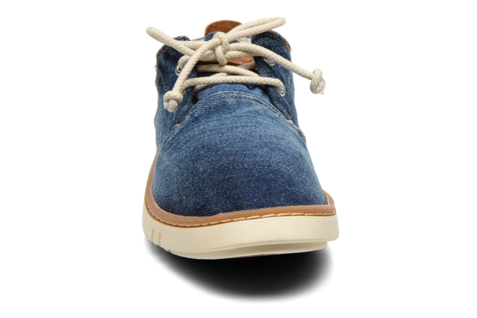 Sneakers Timberland Hookset Handcrafted Canvas Ox Blauw model