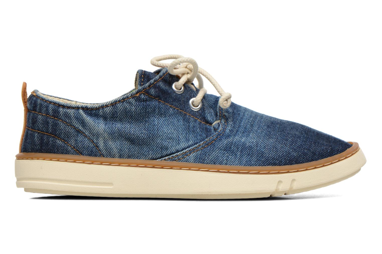 Sneakers Timberland Hookset Handcrafted Canvas Ox Blauw achterkant