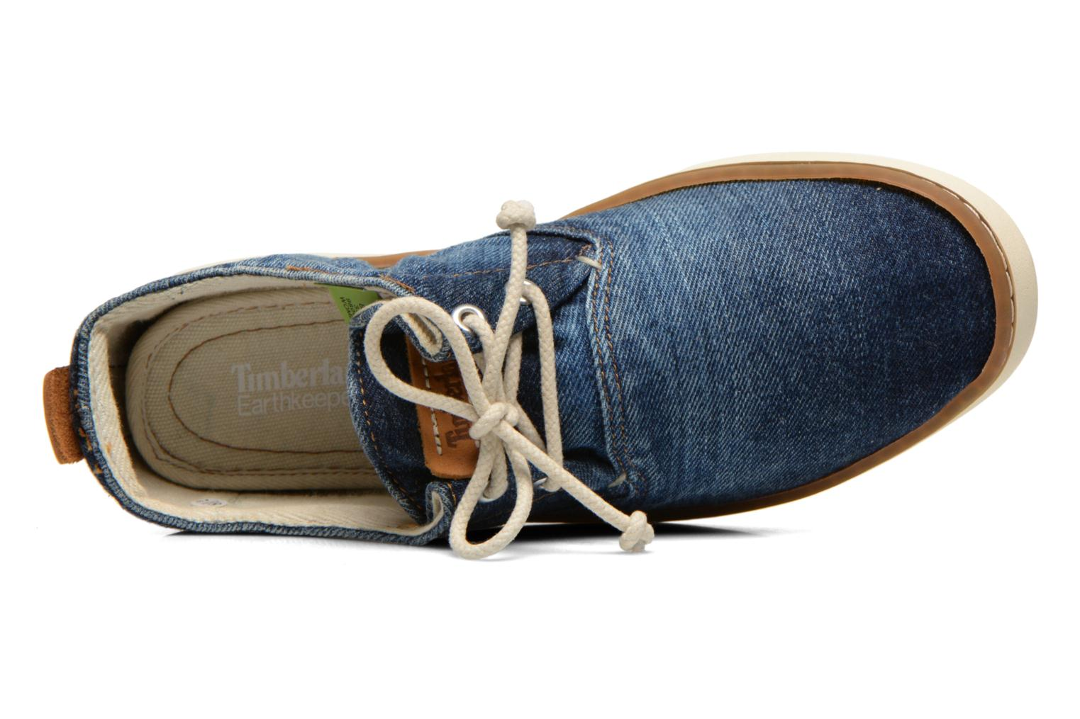 Sneakers Timberland Hookset Handcrafted Canvas Ox Blauw links