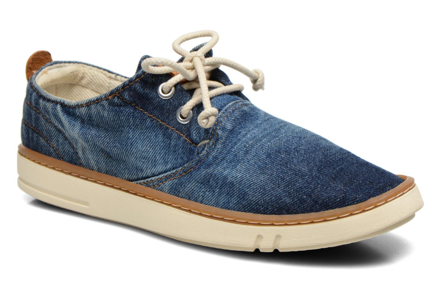 Sneakers Timberland Hookset Handcrafted Canvas Ox Blauw detail