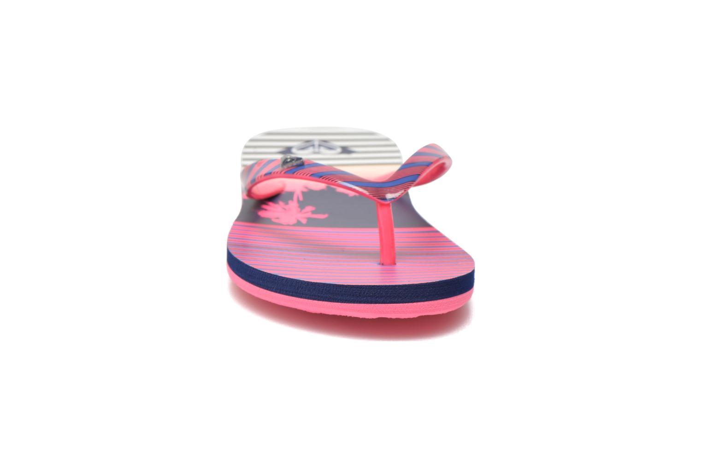 Chanclas Roxy Rg Pebbles V Rosa vista del modelo