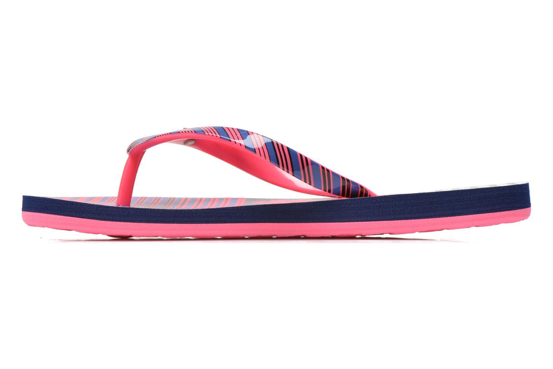 Flip flops Roxy Rg Pebbles V Pink front view