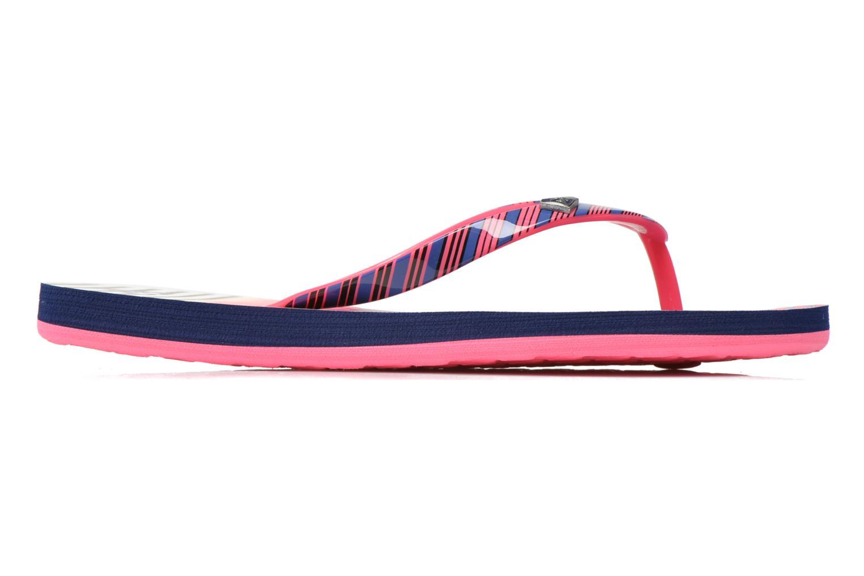 Slippers Roxy Rg Pebbles V Roze achterkant