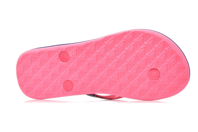 Slippers Roxy Rg Pebbles V Roze boven