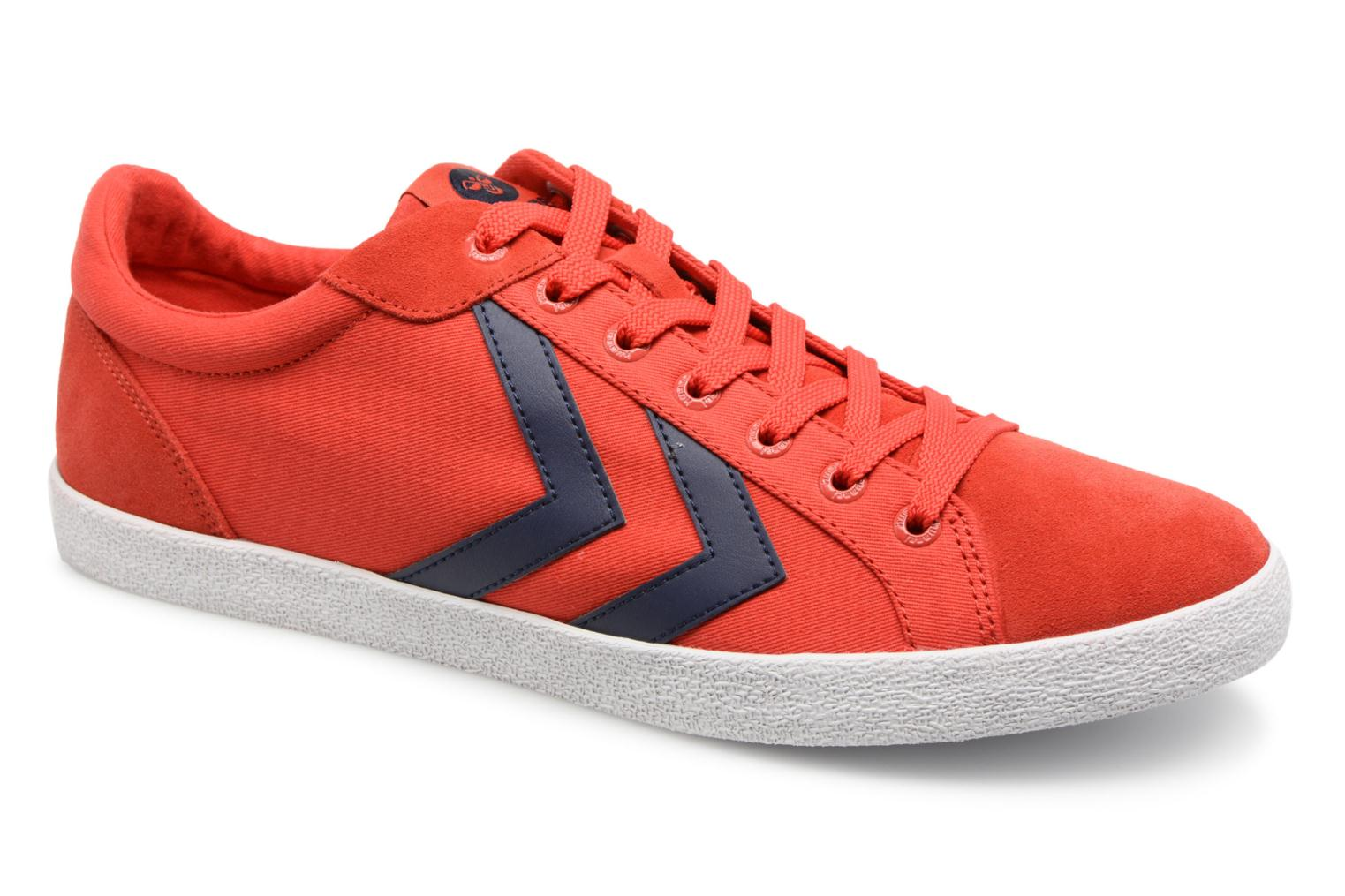Hummel Deuce Court Summer (Rouge) - Baskets chez Sarenza (324509)