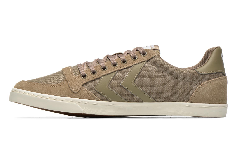 Sneakers Hummel Ten Star Washed Lo Grijs voorkant