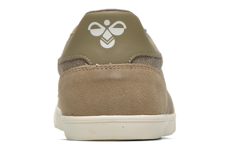 Sneakers Hummel Ten Star Washed Lo Grijs rechts