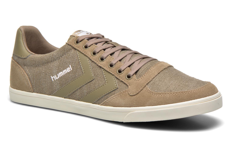 Sneakers Hummel Ten Star Washed Lo Grijs detail