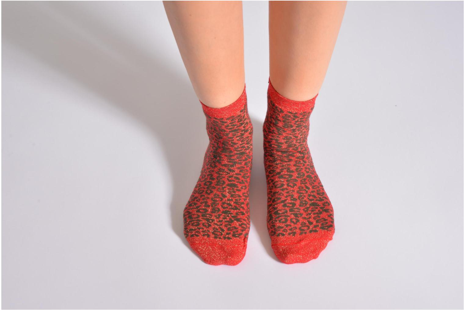 Medias y Calcetines My Lovely Socks rose Rojo vista de arriba