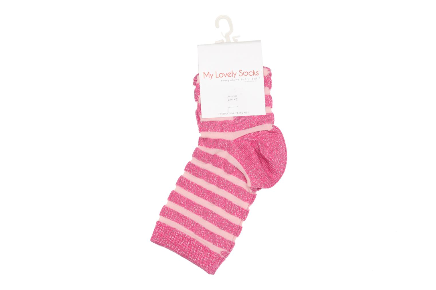 Medias y Calcetines My Lovely Socks Faustine Rosa vista lateral derecha