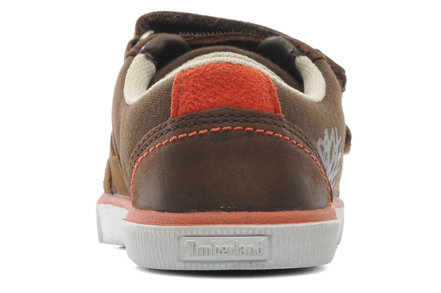 Velcro shoes Timberland SLMCPSL EKF/LH LOXBR Brown view from the right