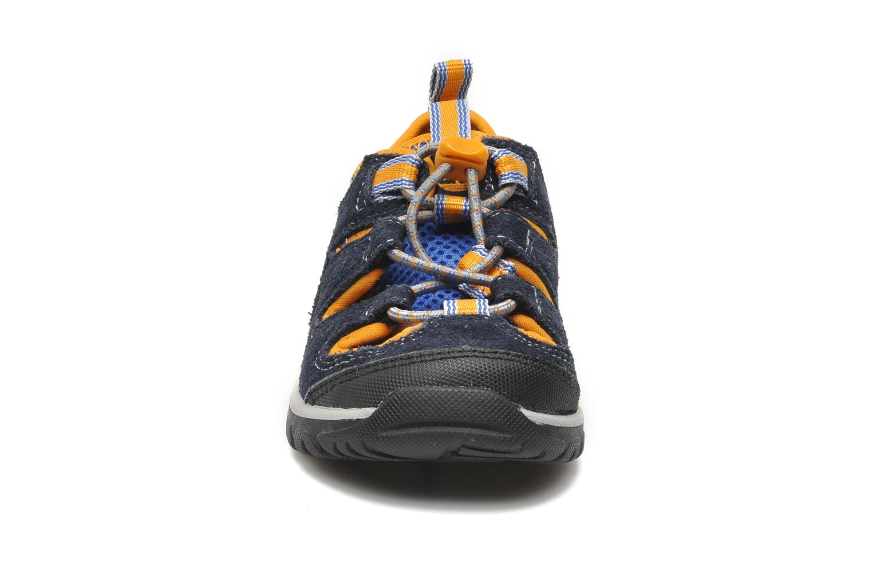 Sneaker Timberland ZIP TRAIL FSHRMN blau schuhe getragen