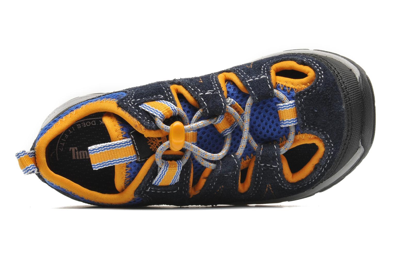 Sneaker Timberland ZIP TRAIL FSHRMN blau ansicht von links