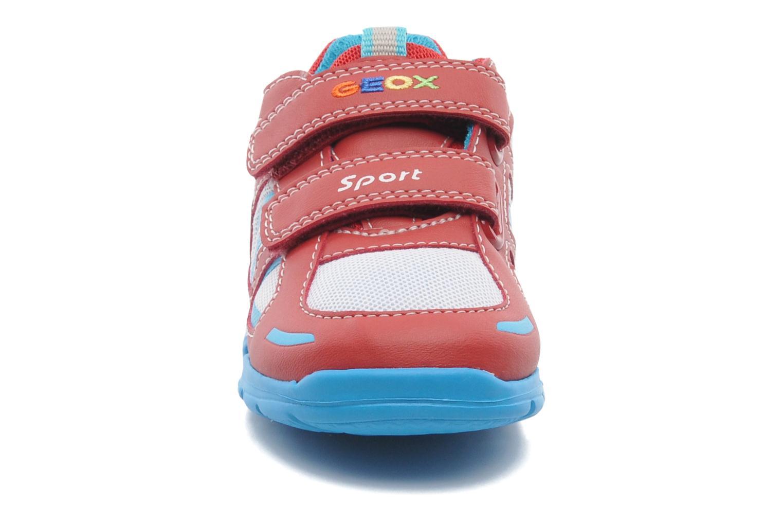 Sneaker Geox B Runner Boy A rot schuhe getragen