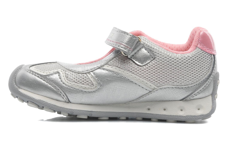 Sneakers Geox B New Jocker Girl A Zilver voorkant