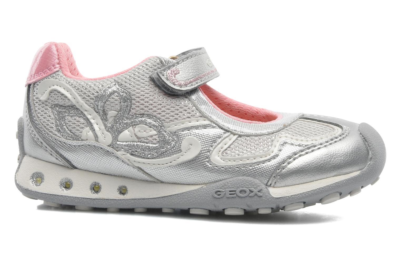 Sneakers Geox B New Jocker Girl A Zilver achterkant