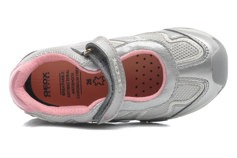 Sneakers Geox B New Jocker Girl A Zilver links