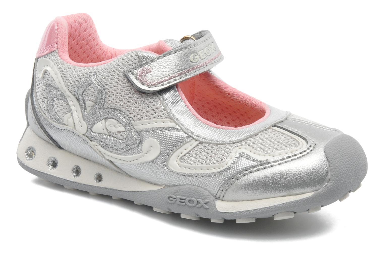 Sneakers Geox B New Jocker Girl A Zilver detail