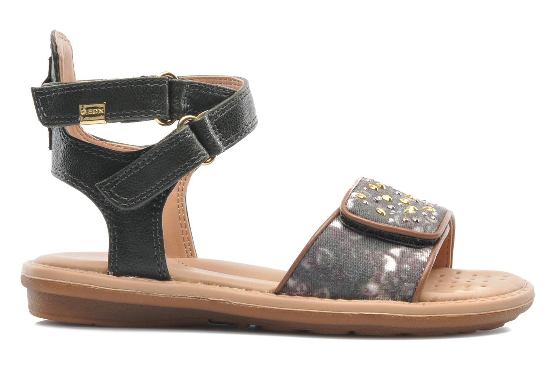 Sandales et nu-pieds Geox J S.MILK C II Vert vue derrière