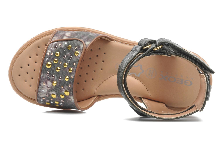 Sandales et nu-pieds Geox J S.MILK C II Vert vue gauche