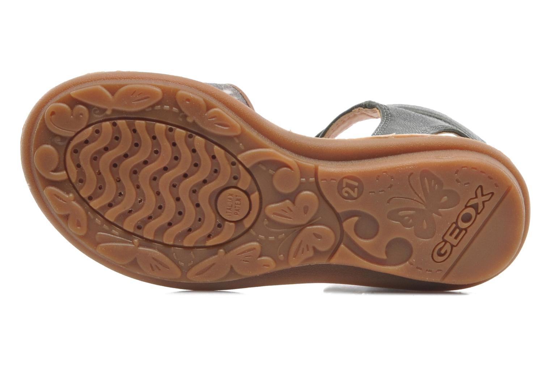 Sandales et nu-pieds Geox J S.MILK C II Vert vue haut
