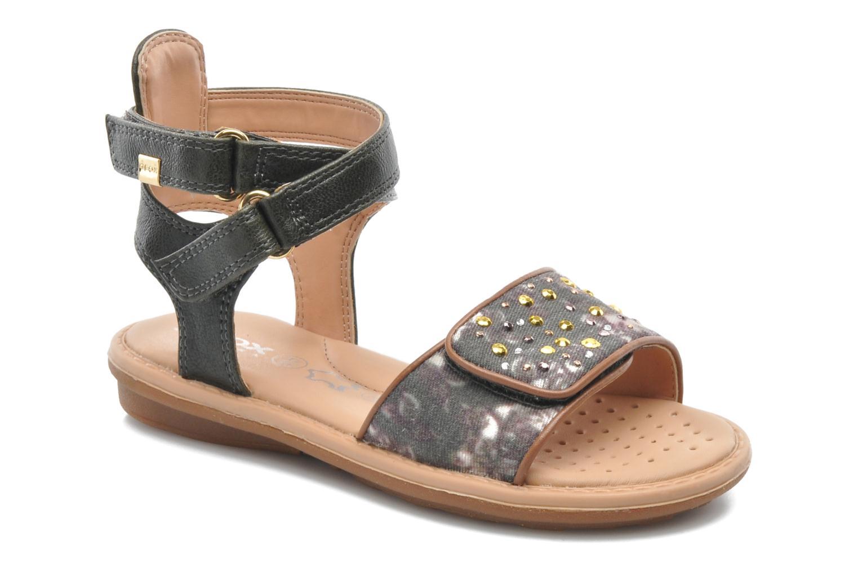 Sandales et nu-pieds Geox J S.MILK C II Vert vue détail/paire