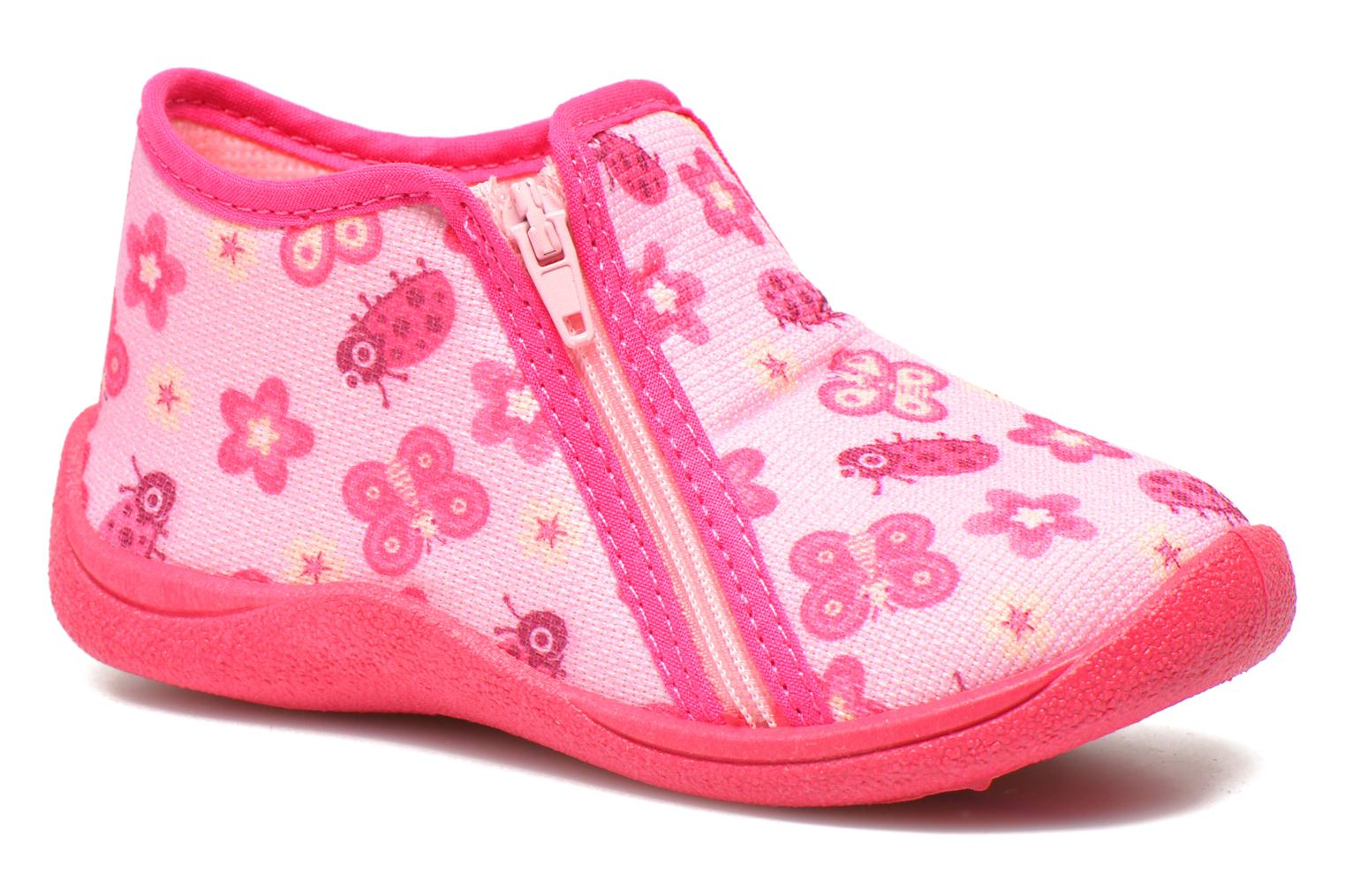 Chaussons Rondinaud GESSY Rose vue détail/paire