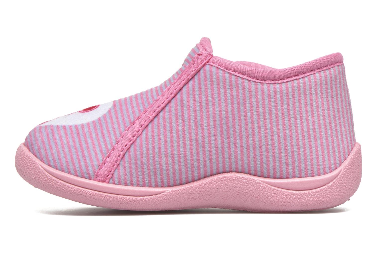 Pantoffels Rondinaud GESSY Roze voorkant