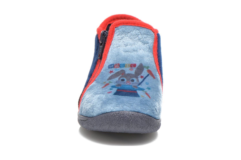 Hausschuhe Rondinaud GESSY blau schuhe getragen