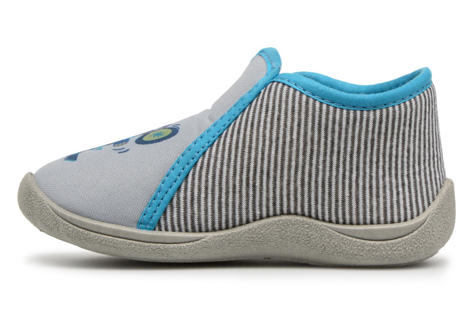 Chaussons Rondinaud GESSY Gris vue face