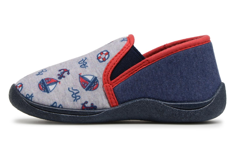 Pantofole Rondinaud JERRY Grigio immagine frontale