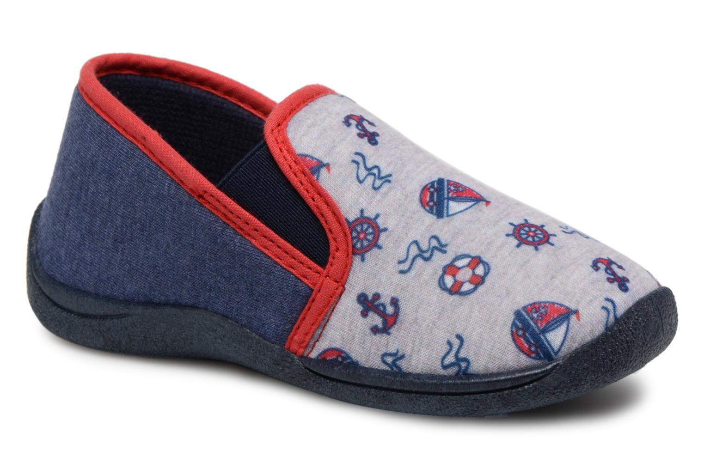 Pantofole Rondinaud JERRY Grigio vedi dettaglio/paio