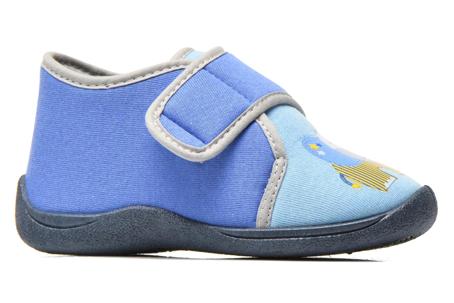 Slippers Rondinaud RECENT Blue back view