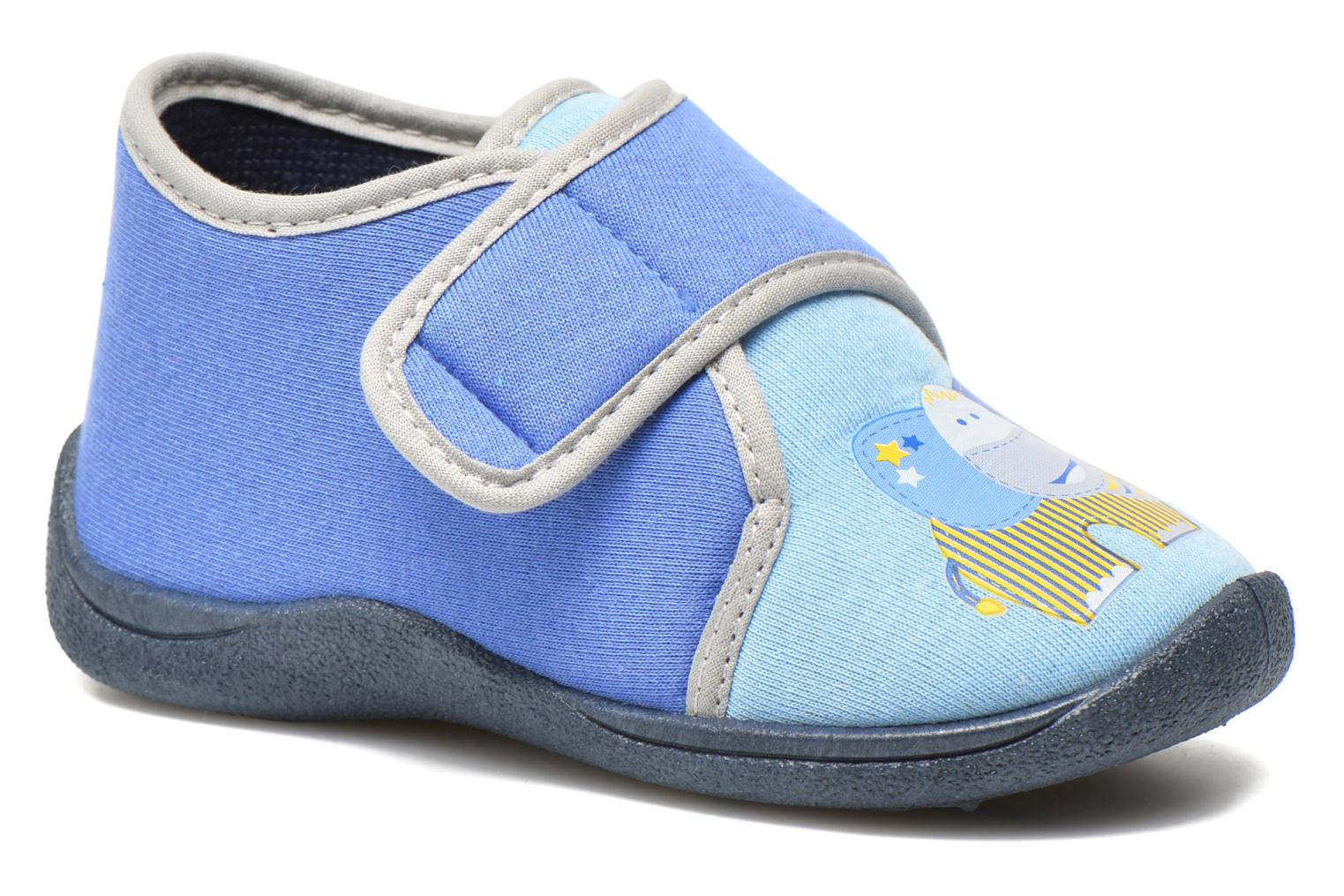 Slippers Rondinaud RECENT Blue detailed view/ Pair view