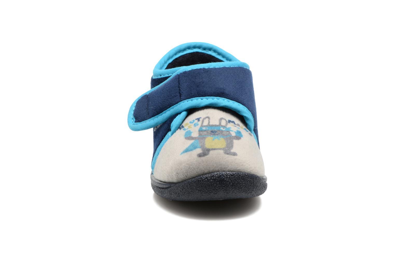 Chaussons Rondinaud RECENT Bleu vue portées chaussures