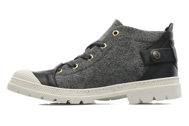 Sneaker Pataugas Aix F schwarz ansicht von vorne