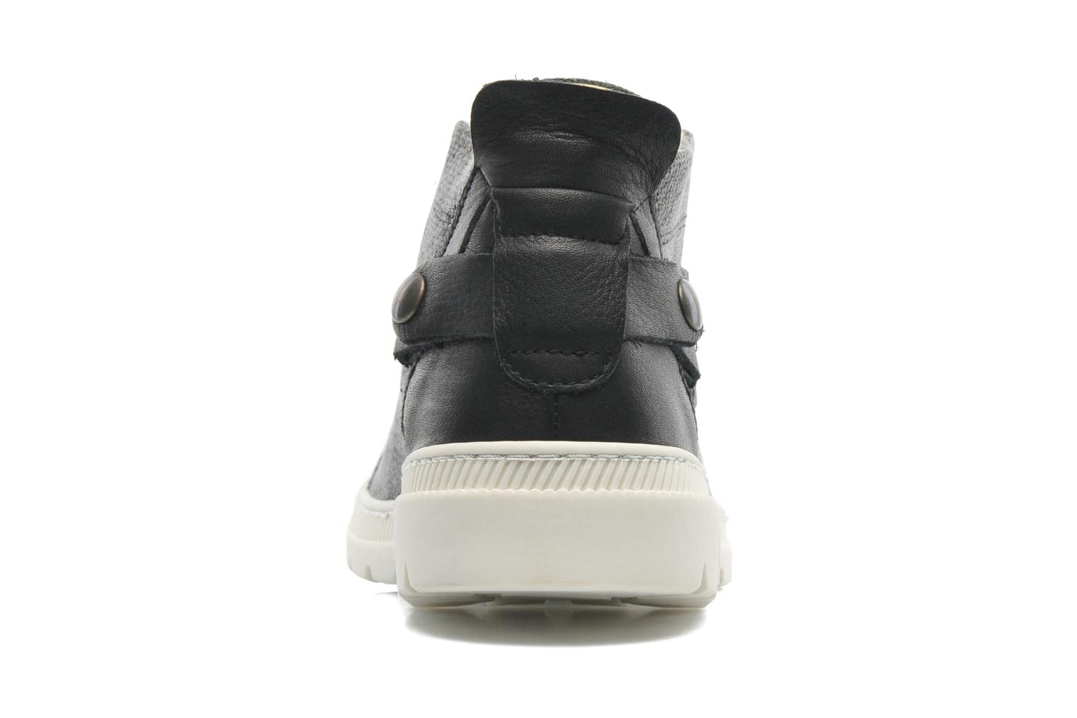 Trainers Pataugas Aix F Black view from the right