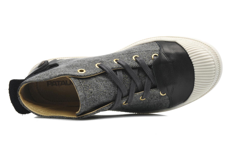 Sneaker Pataugas Aix F schwarz ansicht von links
